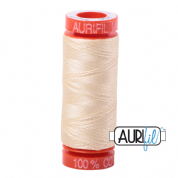 Aurifil 50 Cotton Thread - 2123 (Butter)